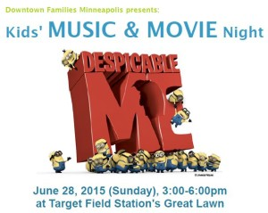 DT Families June 28th Music and Movie Night - Great Lawn